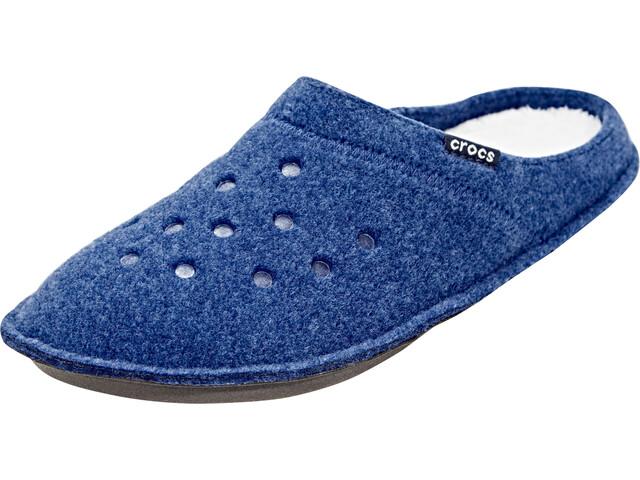 Crocs Classic Chaussons, Cerulean Blue/Oatmeal